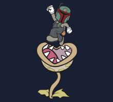 Super Bobio & the Sarlacc Plant Kids Tee