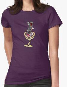 Super Bobio & the Sarlacc Plant Womens Fitted T-Shirt