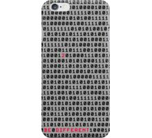 012 be different #2 iPhone Case/Skin