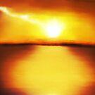 Ocean Sunrise  by Mitch Adams