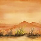 Southwestern Desert  by Mitch Adams