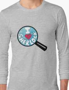 I HEART SHERLOCK Long Sleeve T-Shirt