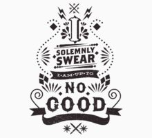 I Solemnly Swear - Harry Potter Quote Baby Tee