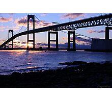 Winter Sunrise Newport RI Photographic Print
