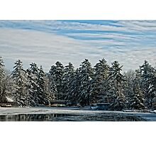 winters cold Photographic Print