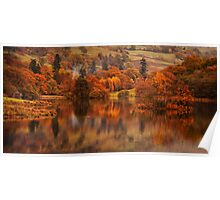 Autumn Rydal Water Poster