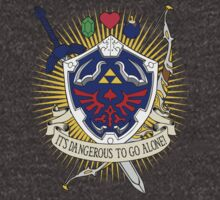 It's dangerous to go alone! -Hoodie by D4N13L