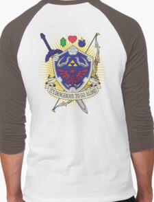 It's dangerous to go alone! -Hoodie Men's Baseball ¾ T-Shirt