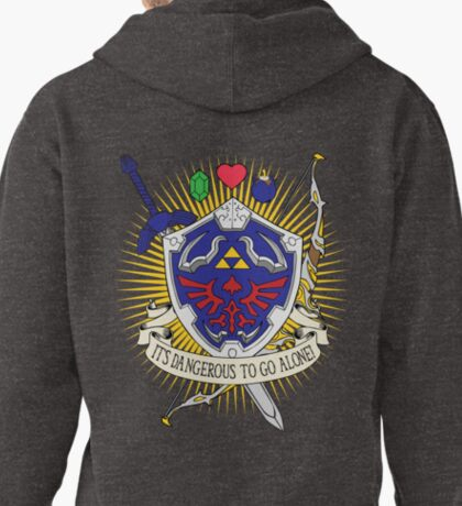 It's dangerous to go alone! -Hoodie Pullover Hoodie