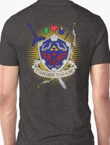 It's dangerous to go alone! -Hoodie Unisex T-Shirt