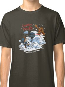 Calvin And Hobbes snow-wars Classic T-Shirt