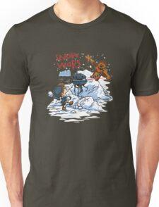 Calvin And Hobbes snow-wars Unisex T-Shirt