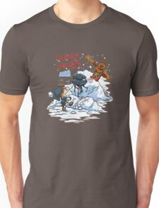 Calvin And Hobbes snow-wars Unisex T-Shirt