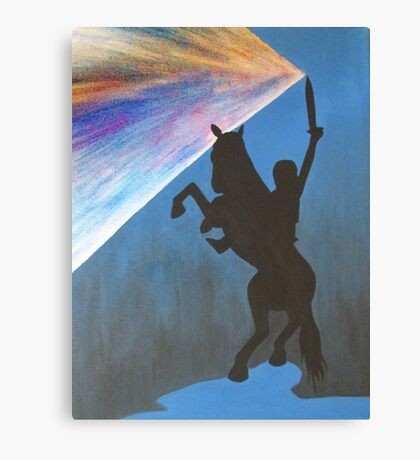 Shadow of the Colossus (SotC) Silhouette Canvas Print