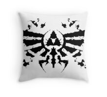Hyrule Rorschach Throw Pillow