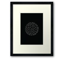 Connected World Poster Framed Print