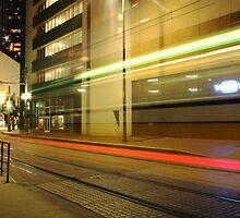 Train Lights by FRO7EN