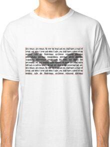 Batwords Classic T-Shirt
