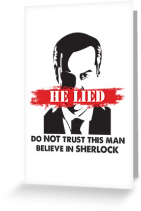 Moriarty Lied by itchysweater