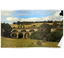 Old bridge in Lithgow NSW Poster