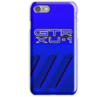 GTR XU-1 Holden Torana Blue iPhone Case/Skin