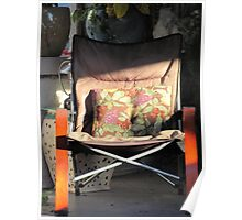 Porch chair, Lydia Street Poster