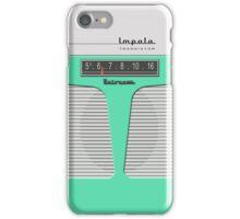 Vintage Transistor Radio - Impala Surf Green iPhone Case/Skin
