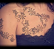 Woman with Henna by doorfrontphotos