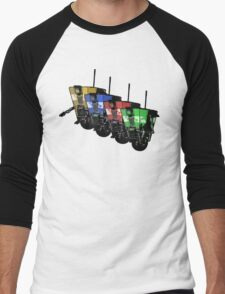 Robot Army Men's Baseball ¾ T-Shirt