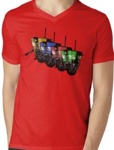 Robot Army Mens V-Neck T-Shirt