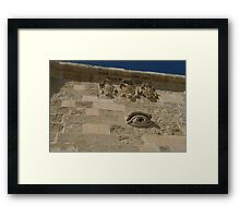 Maltese Symbols - Eye Of Osiris For Luck And Protection Framed Print