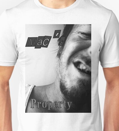 Property of Mac, All Rights Are Reserved Unisex T-Shirt