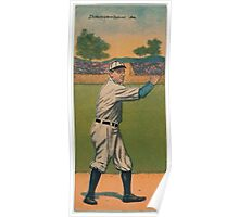 Benjamin K Edwards Collection W E Donovan Ralph V Stroud Detroit Tigers baseball card portrait Poster