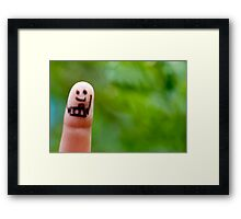 Smile ........ Framed Print