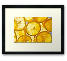 Yelllllow as can beee Framed Print