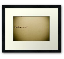 This is what I do  Framed Print