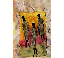 Just the THREE of Us Photographic Print