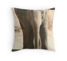 Not So Mammoth Throw Pillow