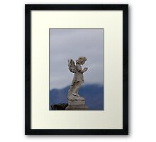 Snow Angel 2 Framed Print