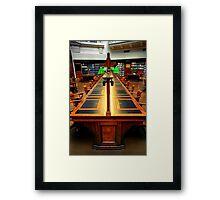 The Reading Room Framed Print