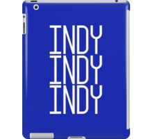 INDY INDY INDY iPad Case/Skin