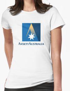 Ansett Australia - 1990's Livery Womens Fitted T-Shirt