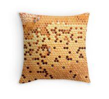 Full Honey Comb Throw Pillow