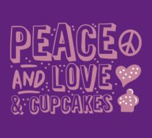PEACE LOVE AND CUPCAKES by jazzydevil