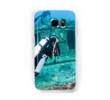 Divers at a shipwreck at Ras Mohammed National Park Samsung Galaxy Case/Skin