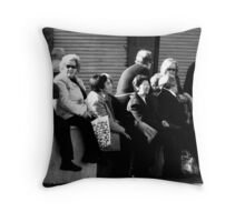 Boring ...another photographer.. Throw Pillow