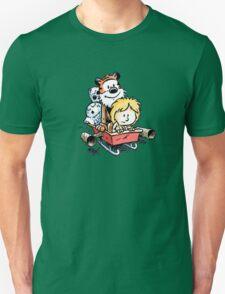 Calvin and Hobbes Inspired Stars Wars T-Shirt
