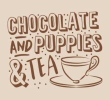 (I LOVE) Chocolate and puppies and TEA by jazzydevil