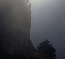 Praying in the fog. by Turi Caggegi