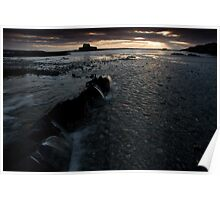 St Cwyfan (A cold winters day) Poster